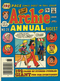Cover Thumbnail for Archie Annual Digest (Archie, 1975 series) #29