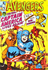 Cover Thumbnail for Avengers (Yaffa / Page, 1978 ? series) #2