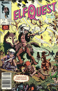 Cover Thumbnail for ElfQuest (Marvel, 1985 series) #1 [Canadian]