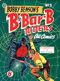 Cover Thumbnail for Bobby Benson's  B-Bar-B Riders (World Distributors, 1950 series) #5