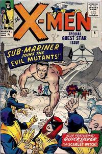 Cover for The X-Men (Marvel, 1963 series) #6