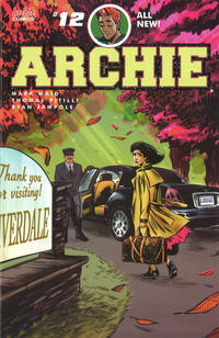Cover Thumbnail for Archie (Archie, 2015 series) #12 [Cover A - Veronica Fish]
