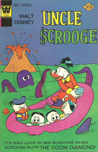 Cover Thumbnail for Uncle Scrooge (Western, 1963 series) #133 [Whitman]