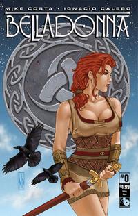 Cover Thumbnail for Belladonna (Avatar Press, 2015 series) #0 [Kickstarter Celtic Deco - Michael DiPascale]