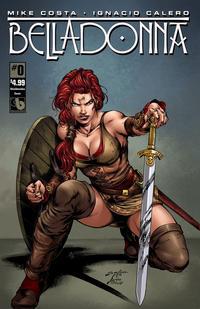 Cover Thumbnail for Belladonna (Avatar Press, 2015 series) #0 [Shield Maiden - Jose Luis]