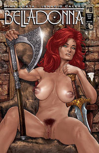 Cover Thumbnail for Belladonna (Avatar Press, 2015 series) #0 [Costume Change Nude Cover - Christian Zanier]