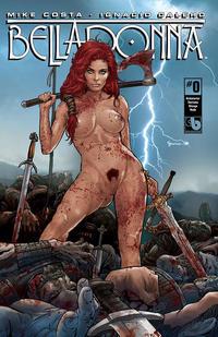 Cover Thumbnail for Belladonna (Avatar Press, 2015 series) #0 [Kickstarter Costume Change Nude Cover - Christian Zanier]