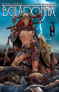Cover Thumbnail for Belladonna (Avatar Press, 2015 series) #0 [Kickstarter Costume Change Topless Cover - Christian Zanier]