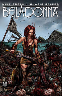 Cover Thumbnail for Belladonna (Avatar Press, 2015 series) #0 [Kickstarter Femme Fatale - Michael DiPascale]