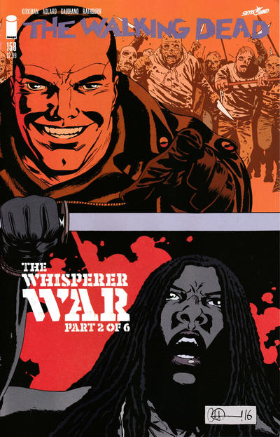 Cover for The Walking Dead (Image, 2003 series) #158