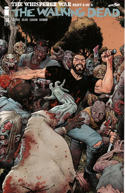 Cover for The Walking Dead (Image, 2003 series) #158 [Cover B - Arthur Adams Variant Cover]