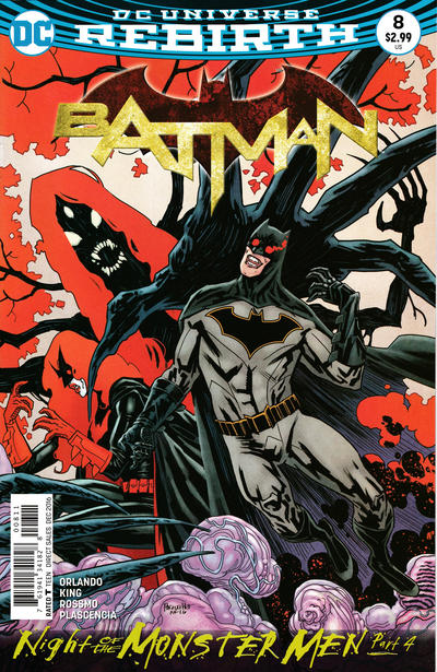 Cover for Batman (DC, 2016 series) #8 [Tim Sale Cover]