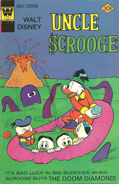 Cover for Uncle Scrooge (Western, 1963 series) #133 [Gold Key]