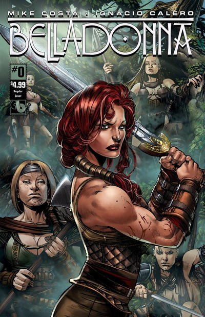 Cover for Belladonna (Avatar Press, 2015 series) #0 [Costume Change Cover C - Christian Zanier]