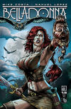 Cover for Belladonna (Avatar Press, 2015 series) #1 [Regular Cover - Nahuel Lopez]
