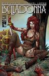 Cover for Belladonna (Avatar Press, 2015 series) #1 [Shield Maiden Cover - Matt Martin]