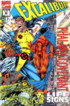 Cover for Excalibur (Marvel, 1988 series) #82 [Newsstand - Deluxe Holo-Foil Cover]