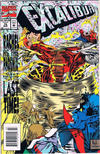 Cover for Excalibur (Marvel, 1988 series) #75 [Newsstand - Deluxe Foil Cover]