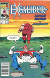 Cover for Excalibur (Marvel, 1988 series) #3 [Newsstand]
