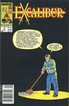 Cover for Excalibur (Marvel, 1988 series) #4 [Newsstand]