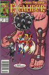 Cover for Excalibur (Marvel, 1988 series) #13 [Newsstand]
