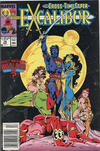 Cover for Excalibur (Marvel, 1988 series) #16 [Newsstand]