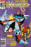 Cover for Excalibur (Marvel, 1988 series) #22 [Newsstand]