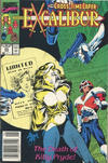 Cover for Excalibur (Marvel, 1988 series) #23 [Newsstand]