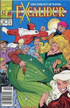 Cover for Excalibur (Marvel, 1988 series) #28 [Newsstand Edition]