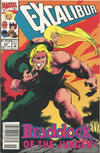 Cover for Excalibur (Marvel, 1988 series) #60 [Newsstand]