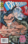 Cover Thumbnail for Excalibur (1988 series) #85 [Newsstand - Deluxe]
