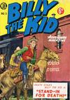 Cover for Billy the Kid Adventure Magazine (World Distributors, 1953 series) #3