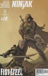 Cover for Ninjak (Valiant Entertainment, 2015 series) #18 [Cover B - Ryan Bodenheim]
