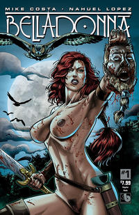 Cover Thumbnail for Belladonna (Avatar Press, 2015 series) #1 [Nude - Nahuel Lopez]