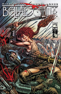 Cover Thumbnail for Belladonna (Avatar Press, 2015 series) #1 [Bloodlust Cover - Raulo Caceres]