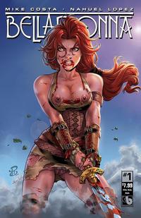 Cover Thumbnail for Belladonna (Avatar Press, 2015 series) #1 [Killer Body Nude - Renato Camilo]