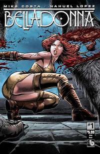 Cover Thumbnail for Belladonna (Avatar Press, 2015 series) #1 [Wraparound Cover - Nahuel Lopez]