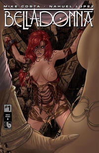 Cover Thumbnail for Belladonna (Avatar Press, 2015 series) #1 [Century Nude & Naughty A - Christian Zanier Cover]