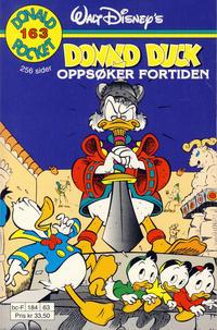 Cover Thumbnail for Donald Pocket (Hjemmet / Egmont, 1968 series) #163 - Donald Duck oppsøker fortiden [1. opplag]