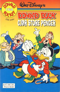 Cover Thumbnail for Donald Pocket (Hjemmet / Egmont, 1968 series) #164 - Donald Duck gjør store penger [1. opplag]
