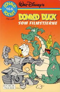 Cover Thumbnail for Donald Pocket (Hjemmet / Egmont, 1968 series) #166 - Donald Duck som filmstjerne [1. opplag]
