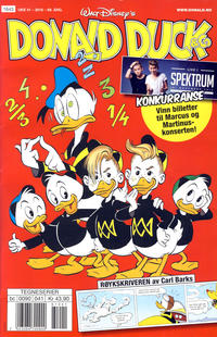 Cover for Donald Duck & Co (Hjemmet / Egmont, 1948 series) #41/2016