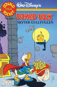 Cover Thumbnail for Donald Pocket (Hjemmet / Egmont, 1968 series) #160 - Donald Duck skyter gullfuglen