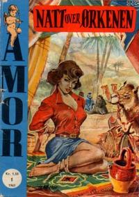 Cover Thumbnail for Amor (Serieforlaget / Se-Bladene / Stabenfeldt, 1961 series) #1/1961