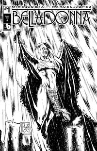 Cover Thumbnail for Belladonna (Avatar Press, 2015 series) #1 [Century Nude Cover A - Paulo Siquiera]