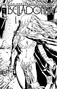 Cover Thumbnail for Belladonna (Avatar Press, 2015 series) #1 [Century Nude Cover D - Paulo Siquiera]