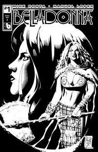 Cover Thumbnail for Belladonna (Avatar Press, 2015 series) #1 [Century Nude Cover E - Paulo Siquiera]