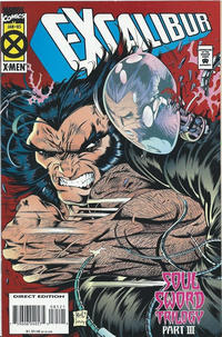 Cover Thumbnail for Excalibur (Marvel, 1988 series) #85 [Direct Edition - Standard]
