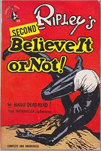 Cover Thumbnail for Ripley's Believe It or Not! (Pocket Books, 1941 series) #2