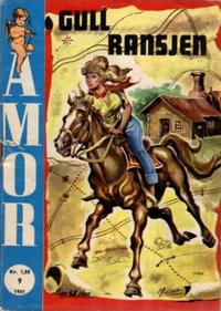 Cover Thumbnail for Amor (Serieforlaget / Se-Bladene / Stabenfeldt, 1961 series) #9/1961